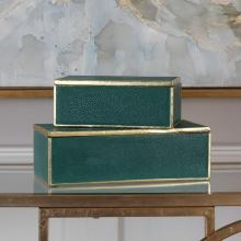 Uttermost 18723 - Uttermost Karis Emerald Green Boxes S/2