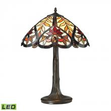 ELK Lighting 72080-1-LED - Brimford 1 Light LED Table Lamp In Dark Bronze