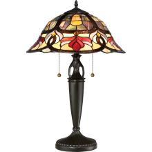 Quoizel TFGD6324VB - Garland Table Lamp