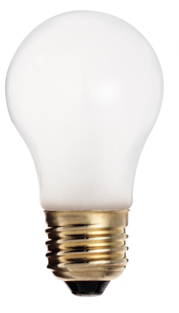 SATC S8523 60W A15 INCANDESCENT - FROSTED - 2500 AVG HOURS - 570L - E26 BASE - 130V - 4PK