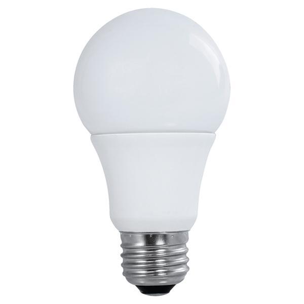SATC S9596 9 WATT LED TYPE A LAMP SOLD IN 4/PK 2700K