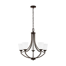 Sea Gull 3124505-710 - Five Light Chandelier