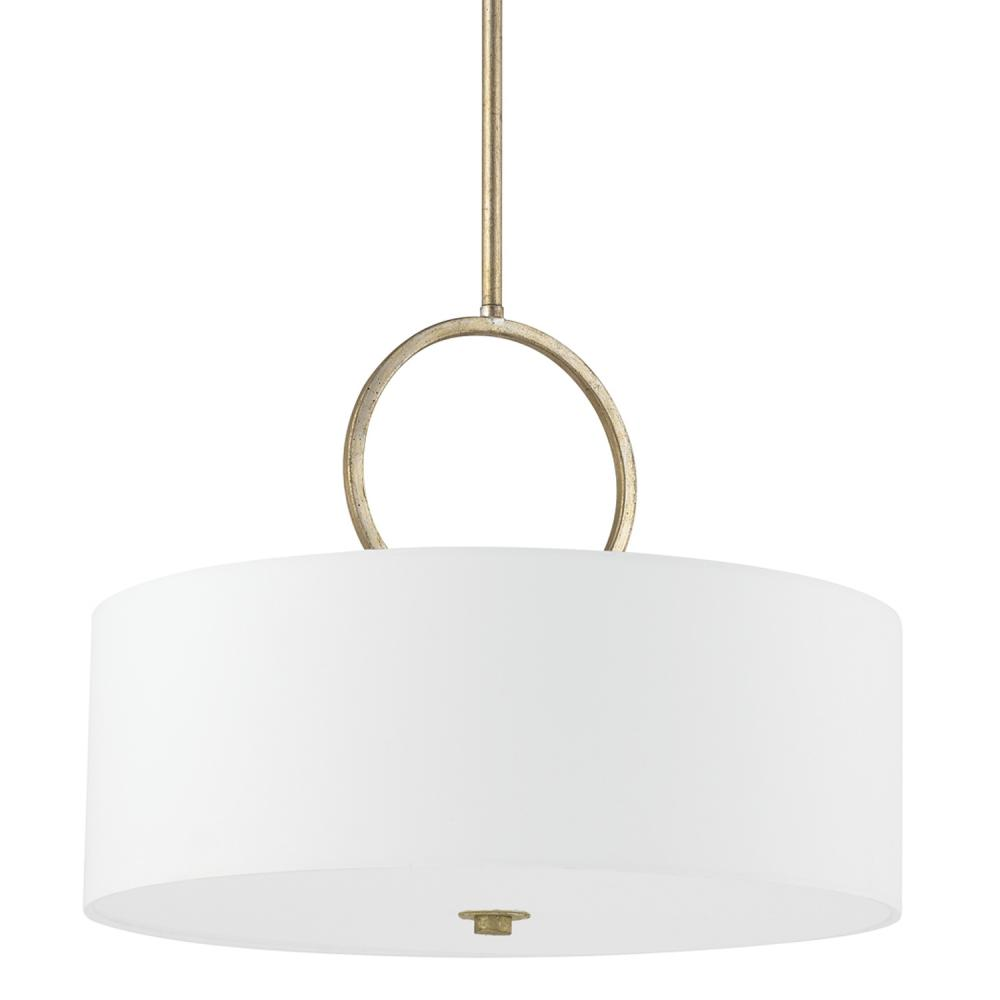 CLF 4673WG-595 3 LIGHT PENDANT HALO