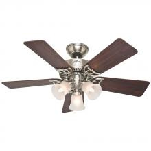 "Hunter 51011 - 42"" Ceiling Fan with Light"