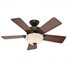 "Hunter 51014 - 42"" Ceiling Fan with Light"