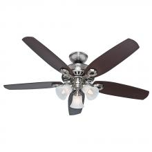 "Hunter 53237 - 52"" Ceiling Fan with Light"