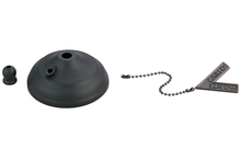 Monte Carlo MC83BK - Pull Chain Type Bowl Cap Kit - Matte Black