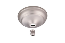 Monte Carlo MC97BP - Remote Control Bowl Cap - Brushed Pewter